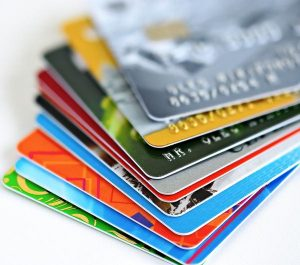 a pile of different Credit Cards